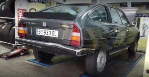 Equipación de neumáticos para la marca Citroen
